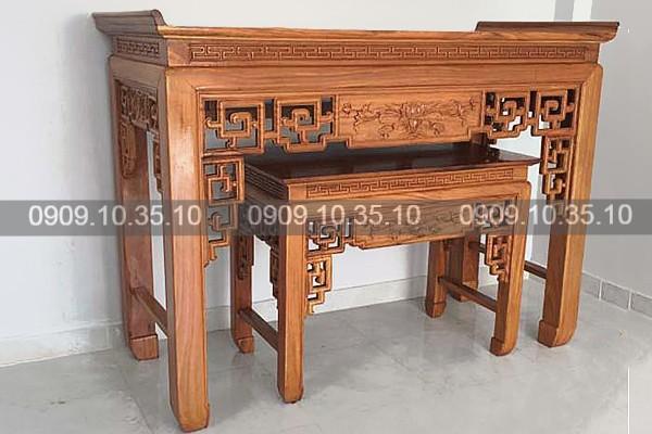 TOP mẫu bàn thờ gia tiên đẹp, giá rẻ