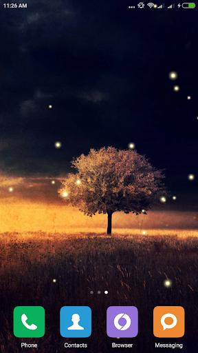 Awesome-Land Live wallpaper HD : Grow more trees screenshots 7