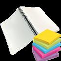 Instant Bloc Note rapid colour icon