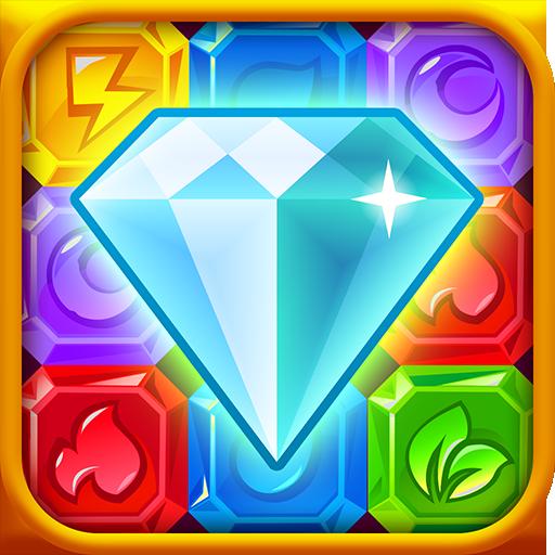 钻石爆爆乐 - Diamond Dash 街機 LOGO-玩APPs