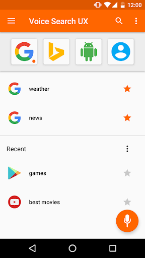 Voice Search screenshot 1