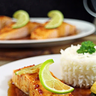 Grilled Salmon with Citrus Tamari Dressing