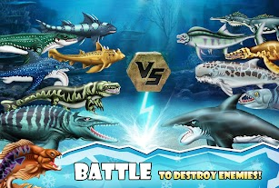 Jurassic Dino Water World screenshot for Android