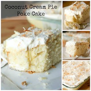 Coconut Cream Pie Poke Cake Recipe