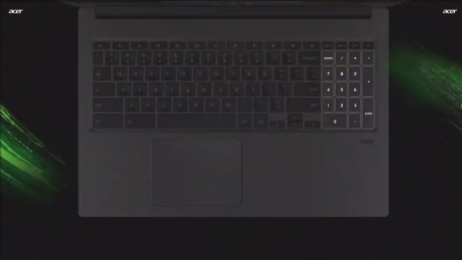 Pavé numérique du Acer Chromebook 715