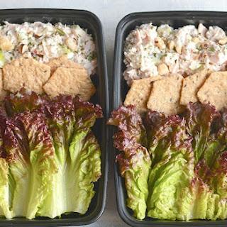 Meal Prep Apple Hazelnut Chicken Salad {GF, Low Cal, Paleo}.