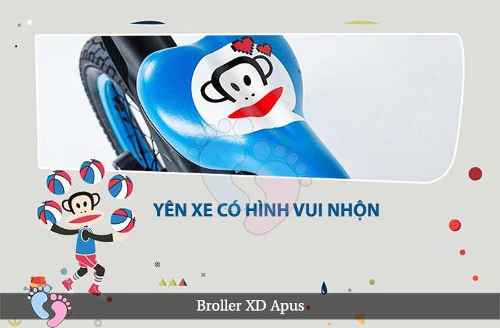 Xe đạp cho bé Broller XD Apus 10