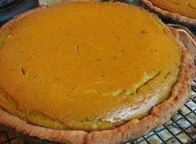 Hubbard Squash Pie From Scratch