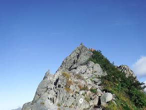 長谷川ピークへ登る