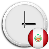 Peru Clock & RSS Widget