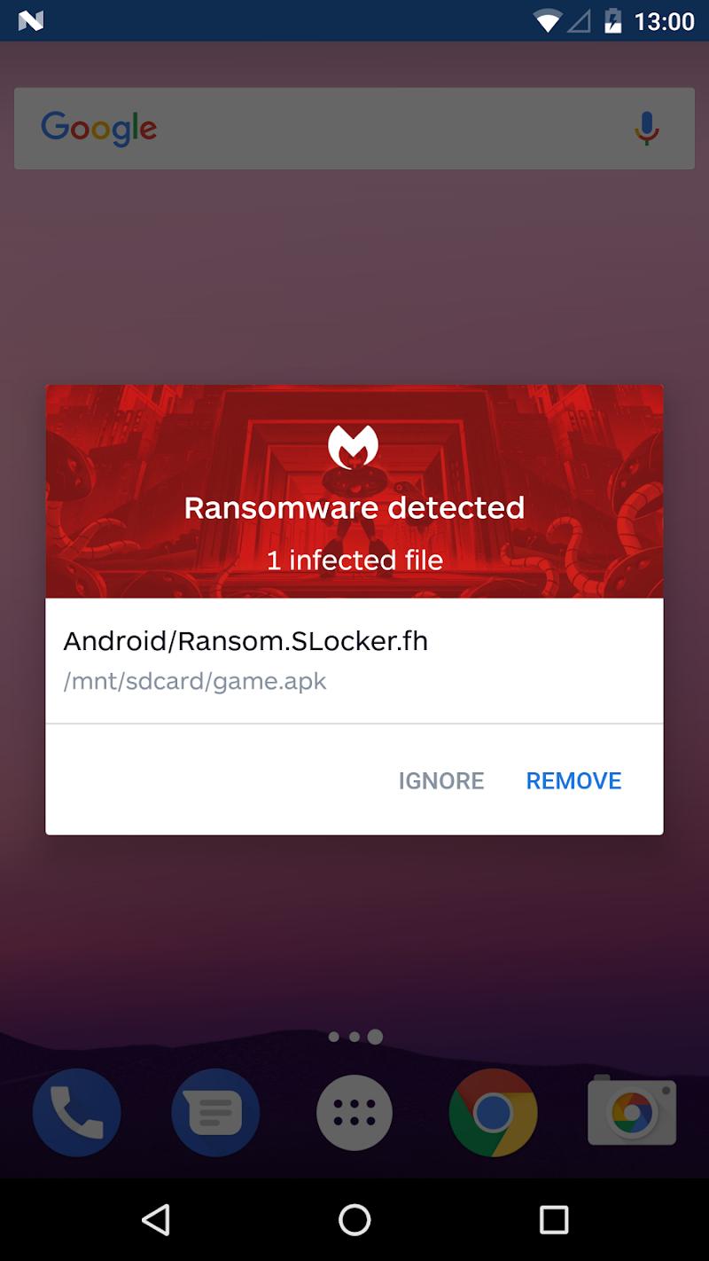Malwarebytes Security: Virus Cleaner, Anti-Malware Screenshot 7