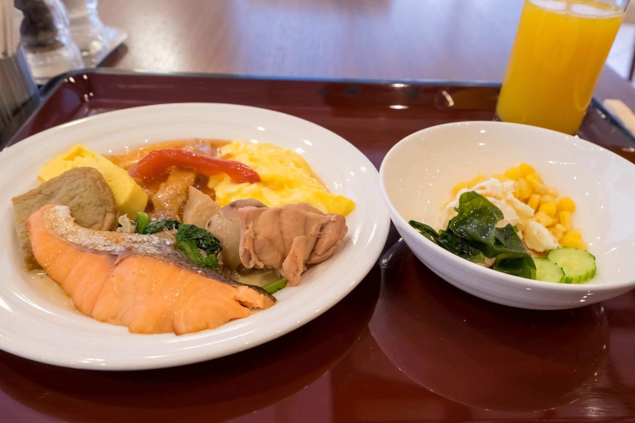 ホテルJALシティ松山 朝食1