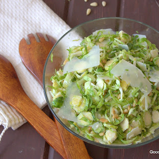 Brussels Sprouts Salad.