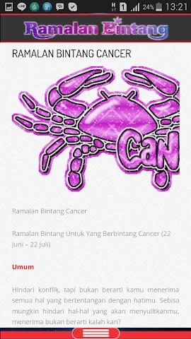 android Ramalan Bintang & Jodoh Screenshot 1