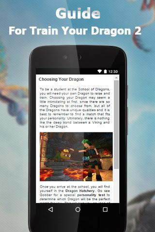 Guide For Train Your Dragon 2