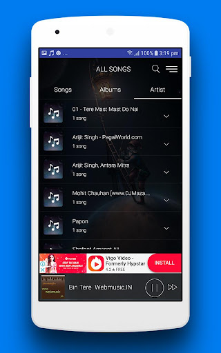 MX Audio Player Pro - Music Player 1.7 screenshots 6