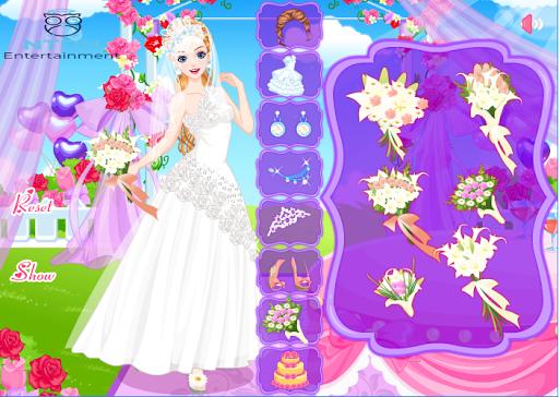 Warm Wedding Girl - Dress up games for girls/kids  screenshots 2