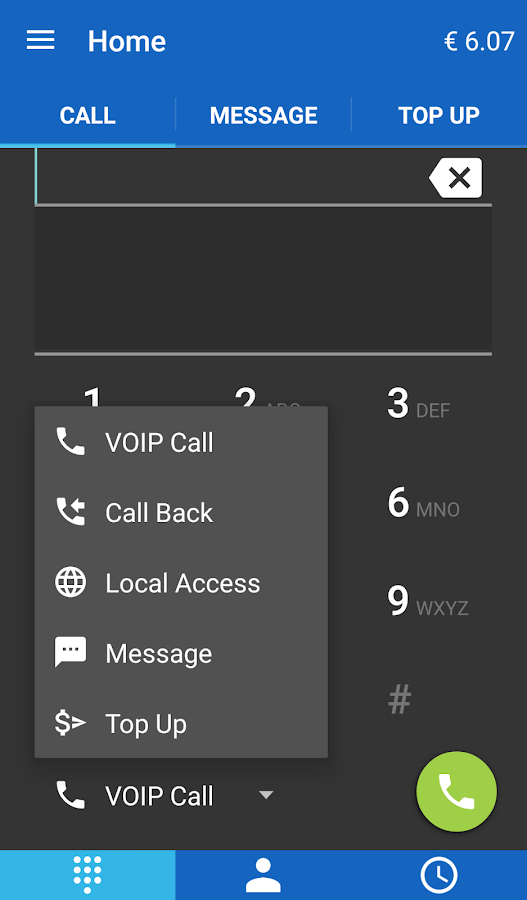 CheapVoip Cheap Line- screenshot