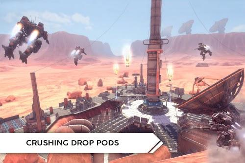 Screenshot 2 Robot Warfare: Mech battle 0.2.2260 APK+DATA MOD
