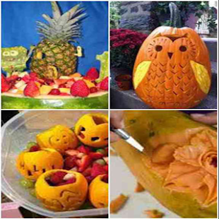 Carving Vegetable and Fruit - náhled