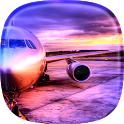 Airplane Live Wallpaper icon