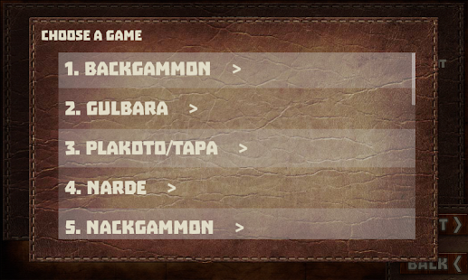 Backgammon Game (16 Games included)- screenshot thumbnail