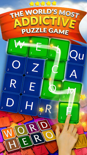 WordHero : best word finding puzzle game 13.5.0 screenshots 1