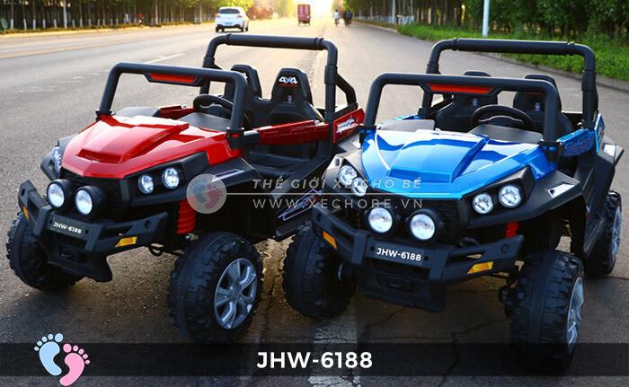 Xe ô tô điện cho bé 4 động cơ JHW-6188 2