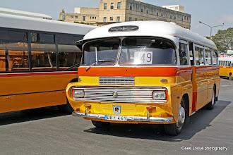 Photo: 2011-04-24. Malta. Bus terminus in Floriana, in front of the main gate of Valletta.  www.loki-travels.eu