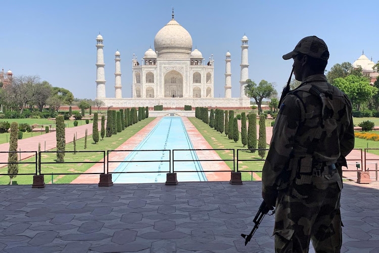 India to reopen Taj Mahal with social distancing, masks./REUTERS