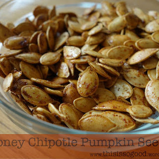 Roasted (Soaked and Sprouted) Pumpkin Seeds Three Ways – Sea Salt and Butter, Maple and Cinnamon, and Honey Chipotle