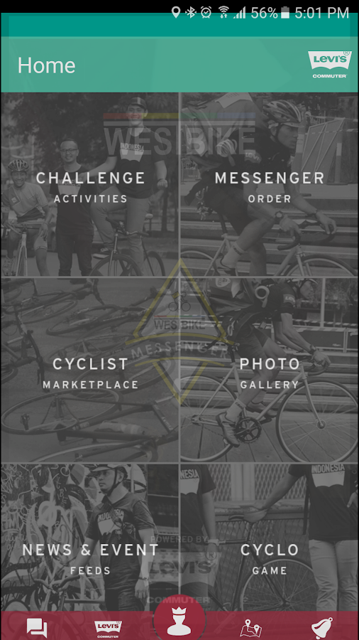 Westbike Messenger- screenshot