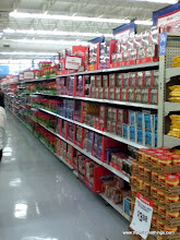 Photo: Candy aisle...no worries, I didn't let it tempt me!  I quickly pushed my card right by it!