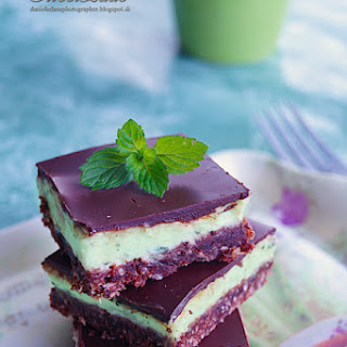 Fitness Mint Nanaimo Bars