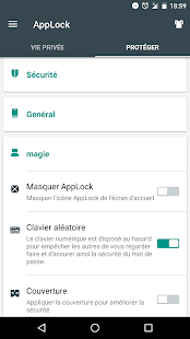 Serrure(AppLock) Capture d'écran