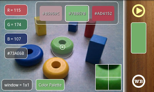 ColorMeter camera color picker