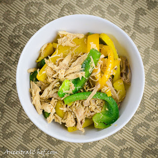 Easy Paleo Chicken Pepper Stir-fry