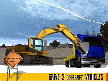Sand Excavator Crane 1.1 screenshot 70015