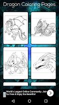 Dragon Coloring Book - screenshot thumbnail 01