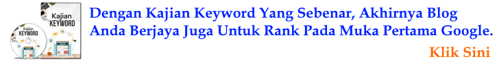 SEO Checklist 2019 - Kajian Keyword