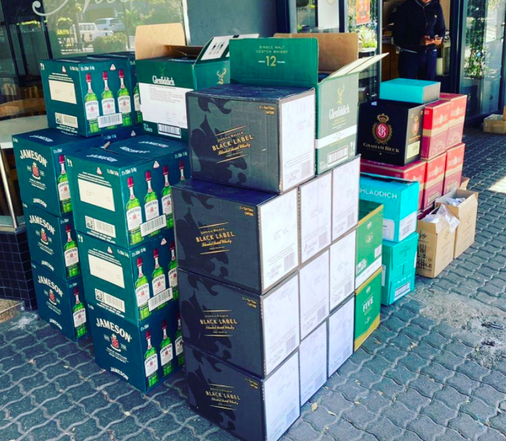 R30,000 booze sold by Joburg bottle store to one customer