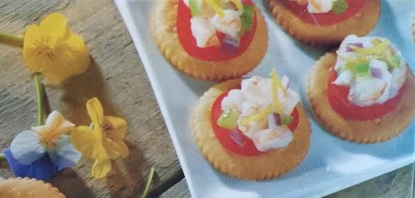 Creamy Shrimp-salad Topper