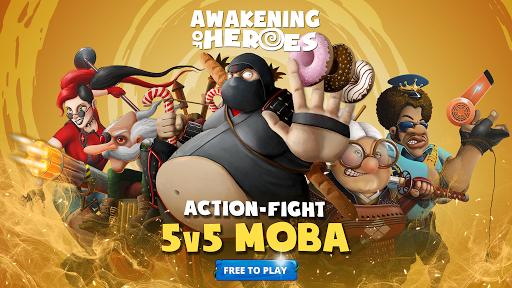Awakening of Heroes: MOBA 5v5 1.5.1 screenshots 7