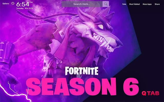 Fortnite Season 6 Wallpapers HD Theme