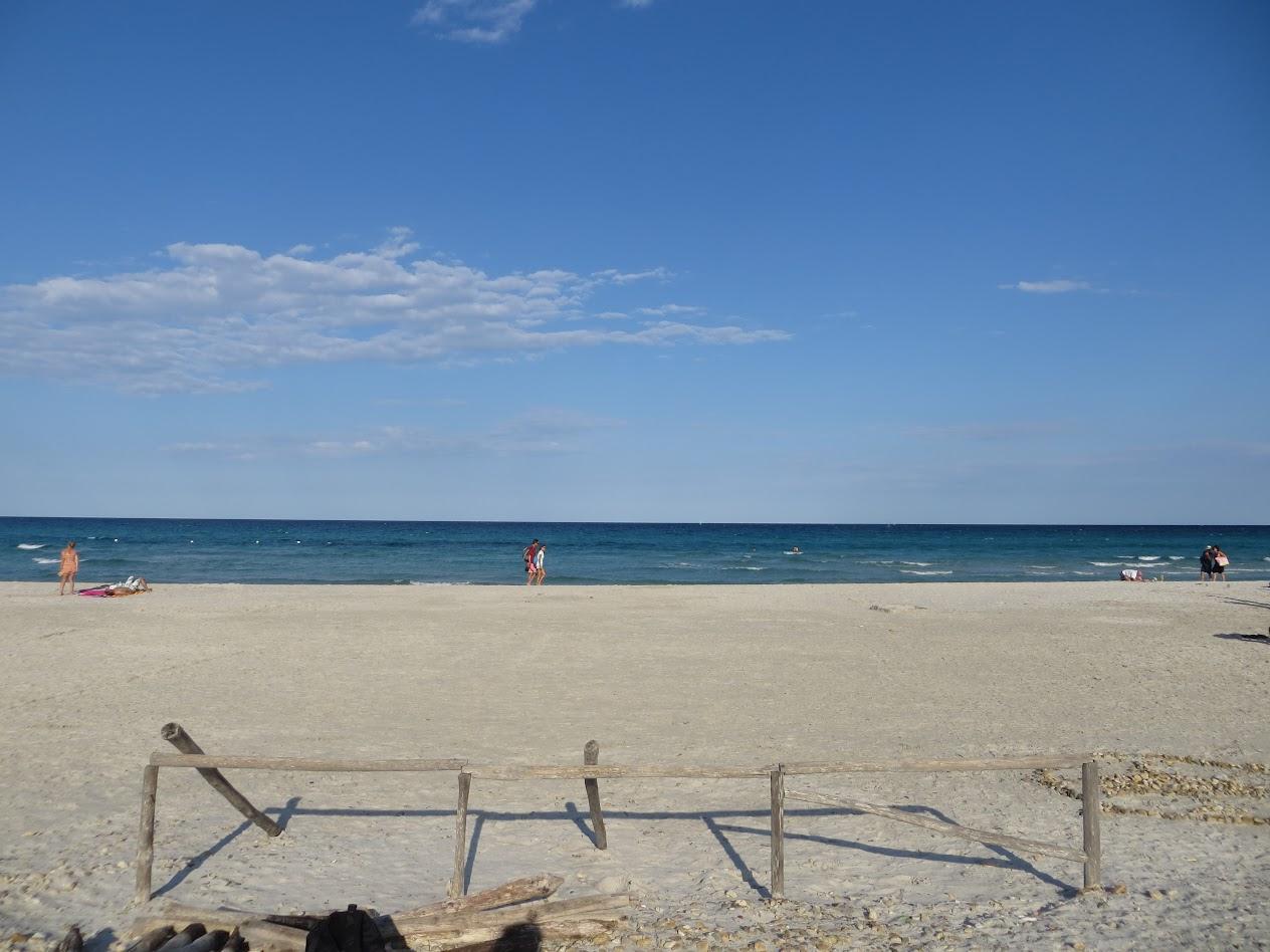 Синее синее море. Ветер и белый песок Ла Чинты