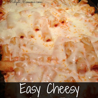 Cheesy Baked Ziti.