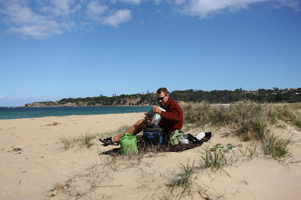 Photo: Year 2 Day 166 -  Lunch on the Beach in Tathra