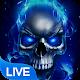 Blue Fire Skull Live Wallpaper Download for PC Windows 10/8/7