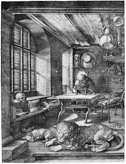 Analysis of Saint Jerome in His Study by Albrecht Durer #kellybagdanov #arthistory #arteducation #arthistoryresource #aparthistory #durer #SaintJerome #engraving #SaintJeromeinhisstudy