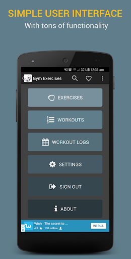 Gym Exercises 2.1 screenshots 8